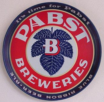 Go to the Pabst Logo Tray  Pabst Logo